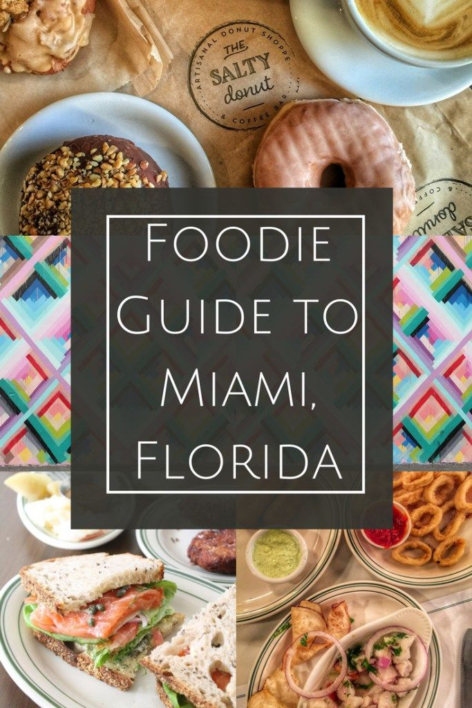 Miami Food Guide - where to eat