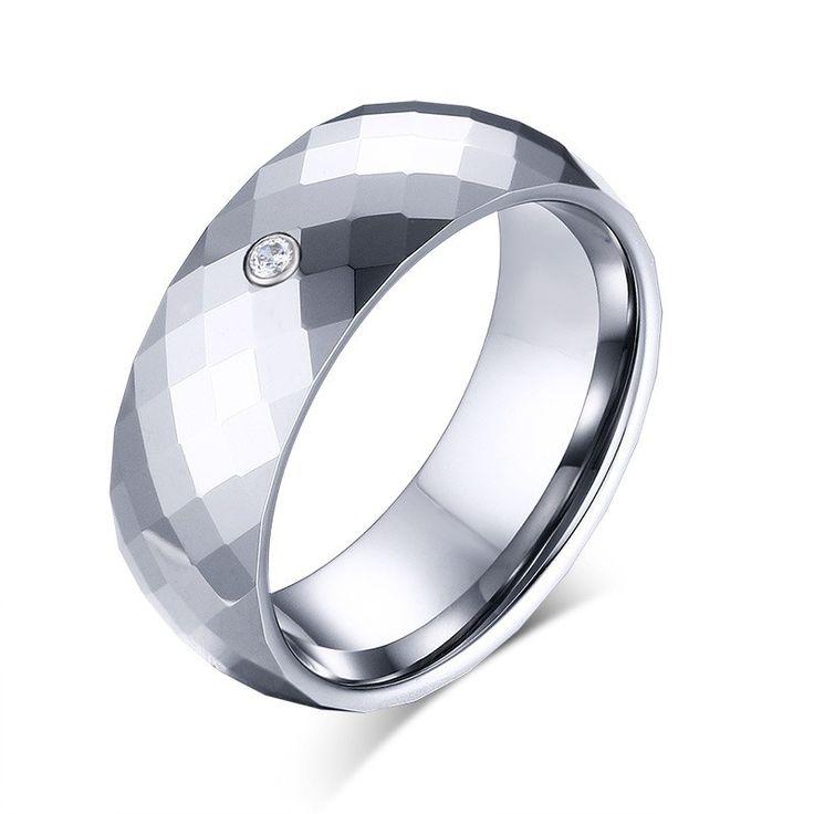 Free Custom Engraving Tungsten Ring - Titanium Rings