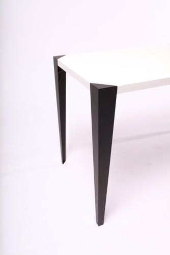 Adap.Table - Elegant, Clamp-On Table Legs Attach In Seconds | Co.Design  http://adap-tablelegs.com