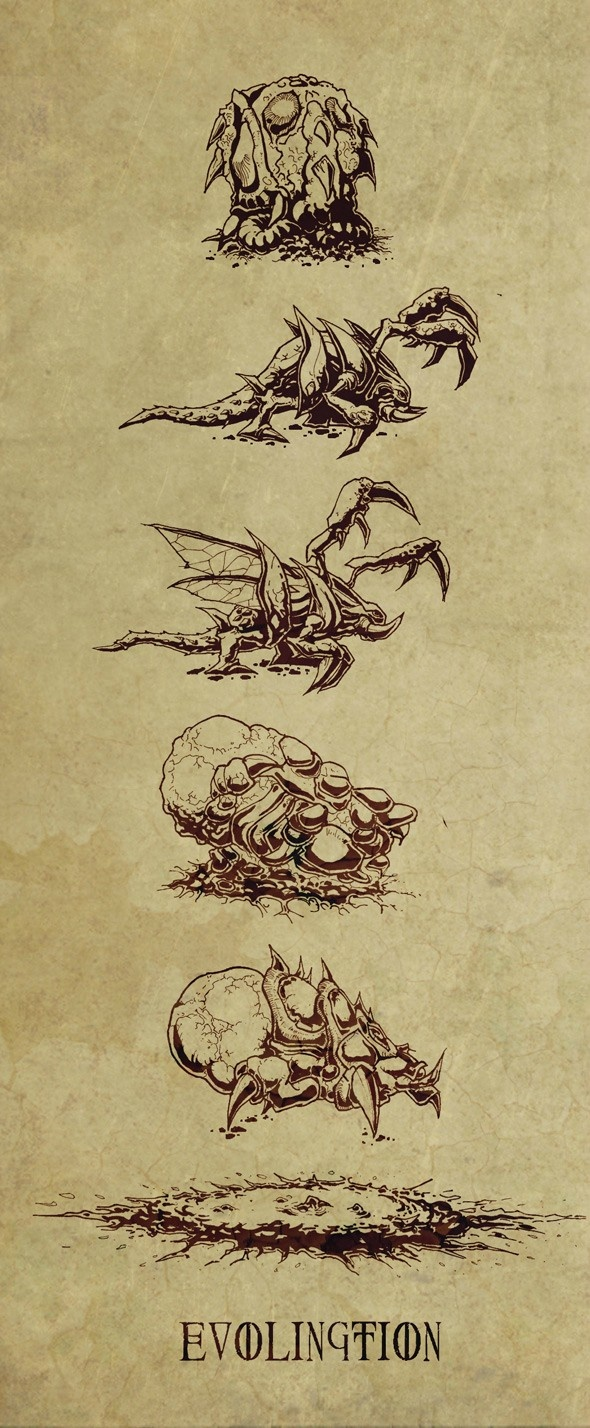 Zerg Evolution