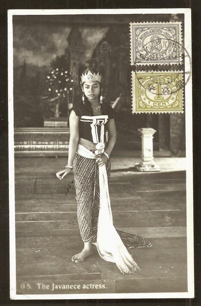 OPOI: The Javanese Actress ~ Djokja ~ Java ~ Indonesia ~ c1933