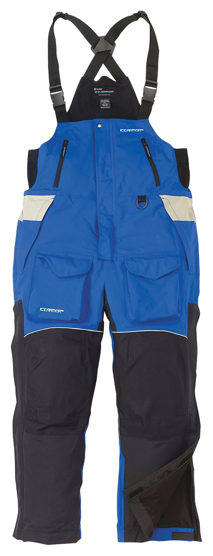 Icearmor by clam edge cold weather bibs for men bass pro for Cold weather fishing gloves