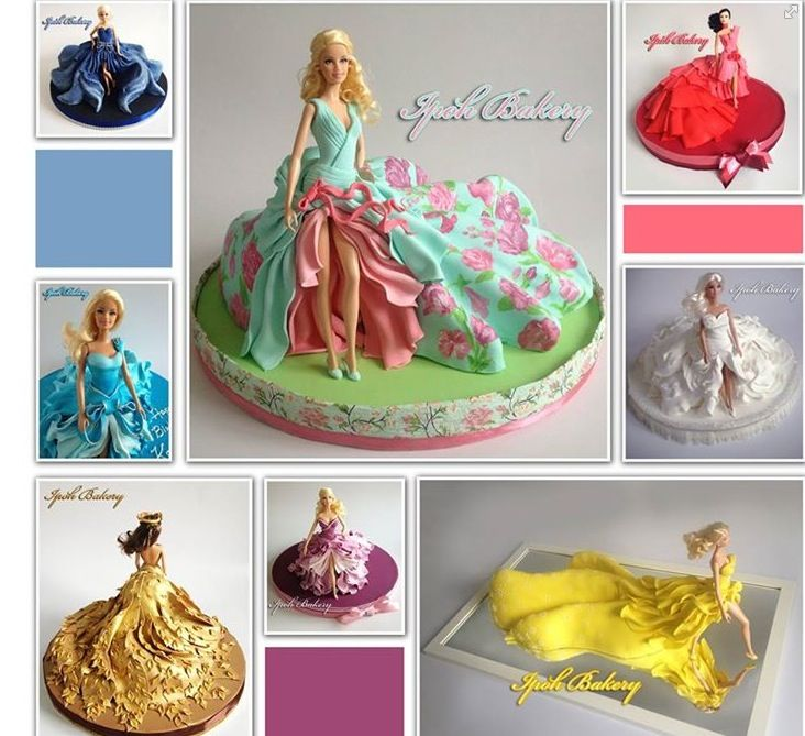 Couture doll cakes - Ipoh bakery