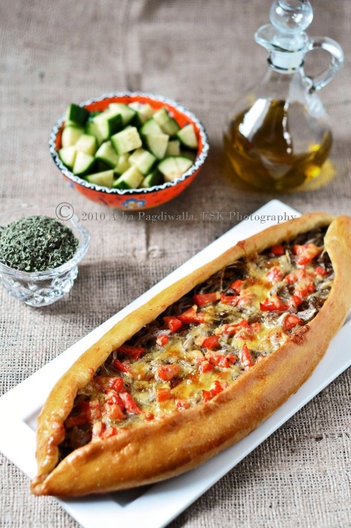 Recipe: Caramelised Onion & Olive Pide, Turkish Pizza