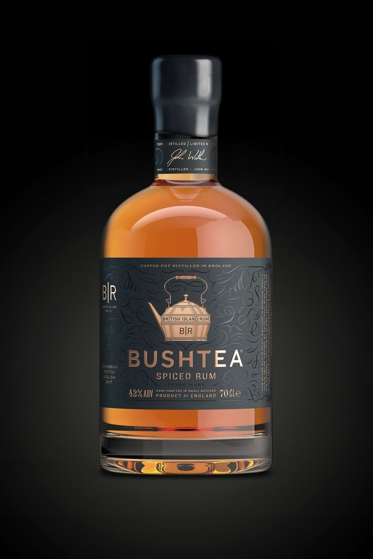 Bushtea Rum on Packaging of the World - Creative Package Design Gallery