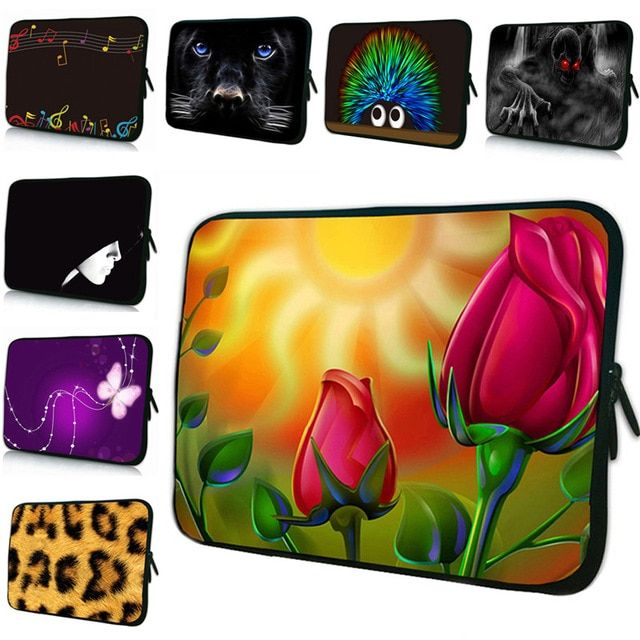 """15.6/"""" 13.3/"""" 17 15 14 13 12 10/"""" 7.9 Laptop Notebook Neprene Sleeve Bag Cover Case"""