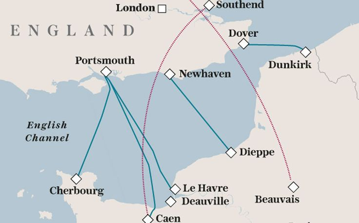 With disruption in Calais continuing, we outline the other cross-Channel   services available to Britons