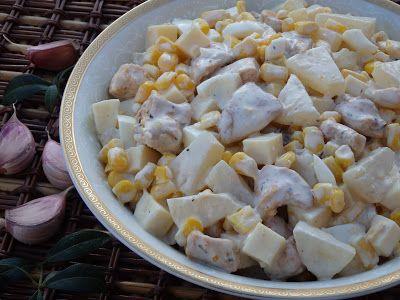 Monia miesza i gotuje: Sałatki z majonezem