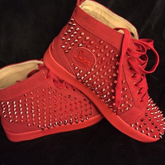 sneaker louboutin rouge
