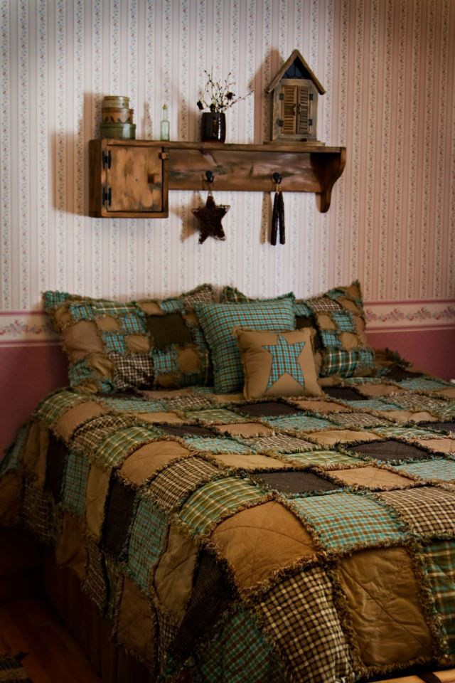 raggedy quilt - for the men in your lives