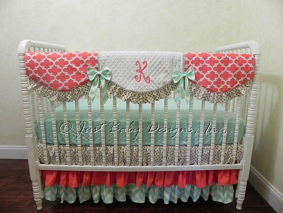 369 best Custom Baby Bedding images on Pinterest   Custom ...
