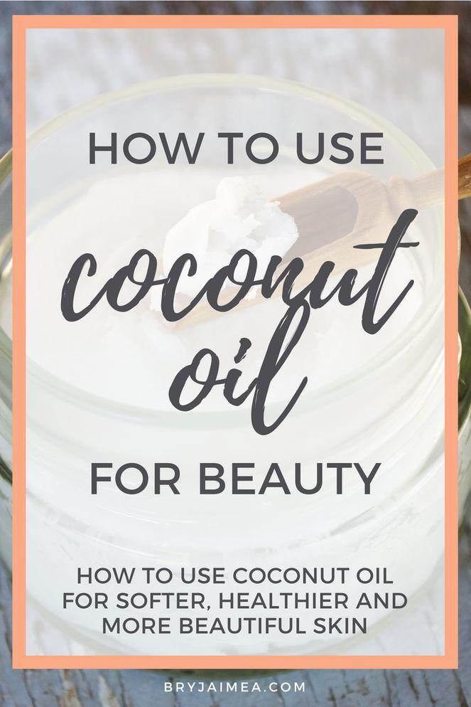 5 Ways to Use Coconut Oil for Beauty via @BryJaimea bryjaimea.com