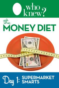 Supermarket Smarts: 10 Savings Mistakes You're Making at the Grocery Store - Instant Ways to Save Money - Who Knew Tips - from the authors of the As Seen on TV books