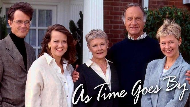 As Time Goes By- I have seen every episode at least 5 times and never get tired of it.  I love Jean and Lionel!