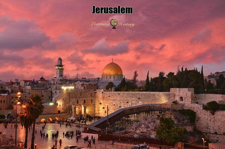 Jerusalem a Place of Pilgrimage and Worship | via @learninghistory