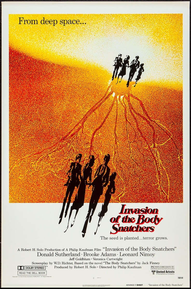 an analysis of invasion of the body snatchers an american film An analysis of masculinities in the 1950s u  invasion of the body snatchers, and  american man and woman the film was articulating a sense of anxiety over.