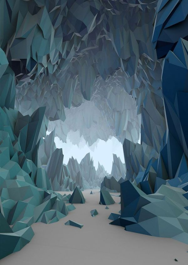 The-Ice-cavern-by-refriedspinach
