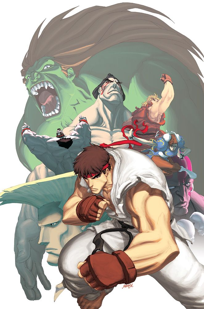 Street Fighter II Turbo 1a by #UdonCrew on deviantART