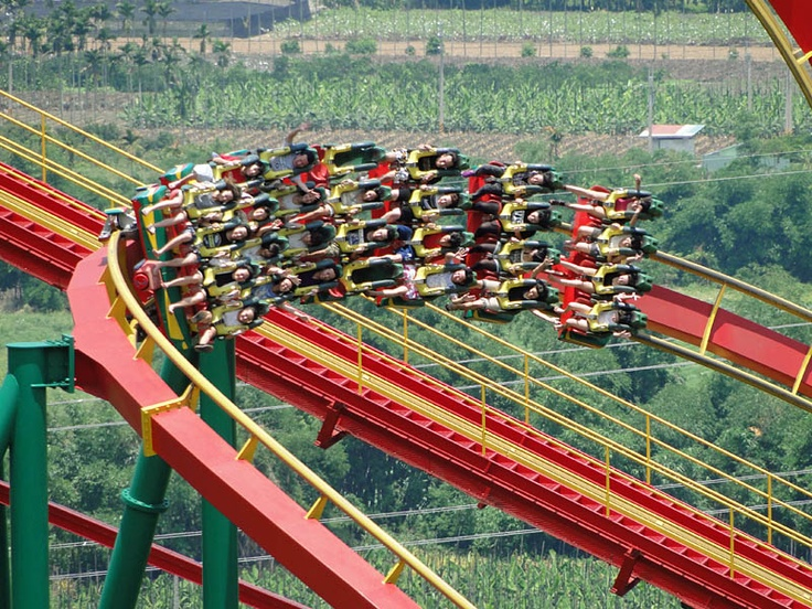 Insane Speed #Janfusun Fancyworld #Taiwan #rollercoaster