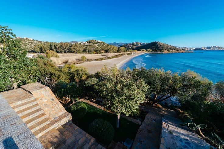 Beach villa with view of the Saint Nicolas bay, Agios Nikolaos | Cretico