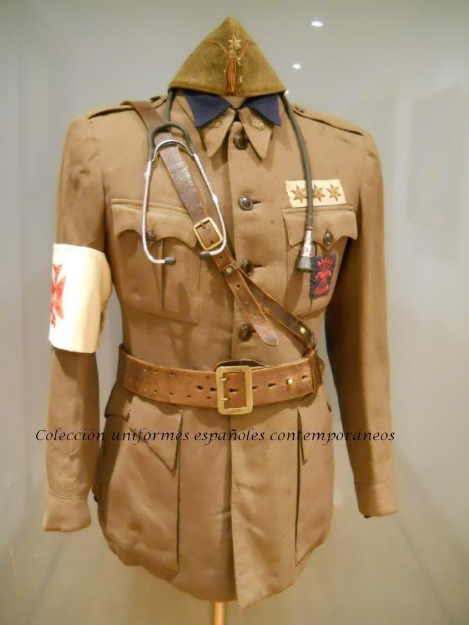 Spanish Civil War Nacional medic uniform | Militaria ...
