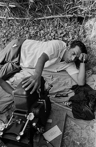 Nemai Ghosh's photograph of Satyajit Ray