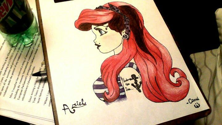 Ariel Drawings Tumblr 821cfb6e88df057cd8d209e4d8b6d5 ...