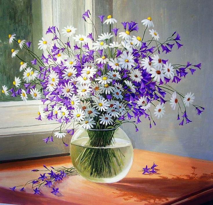 17 Best 1000 images about Art FloralGarden Paintings on Pinterest