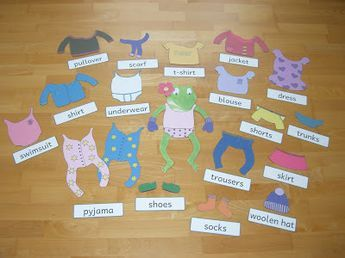 Best 25 froggy gets dressed ideas on pinterest froggy goes to eine idee und anragung zum thema clothes im englischunterricht der grundschule storrytelling mit pronofoot35fo Images