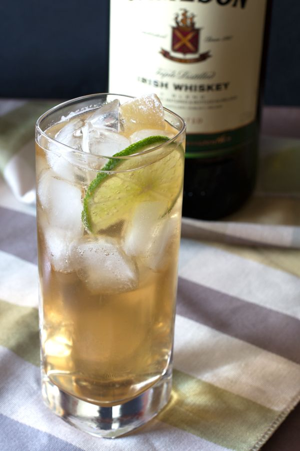 Jameson ginger recipe jameson drinks happy hour and for Mixed drink with jameson