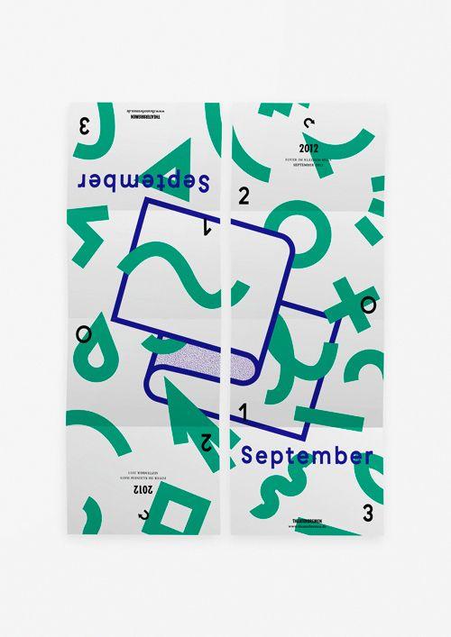 Spielzeit Flyer / Poster – September 2013 for Theater Bremen
