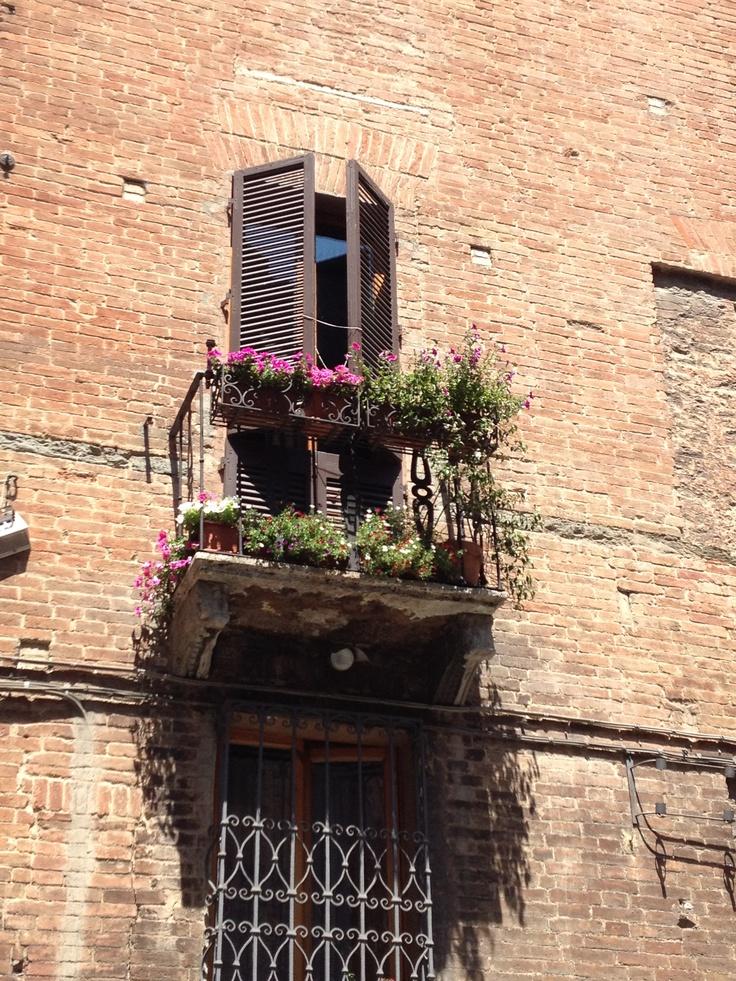 Balcony in Siena