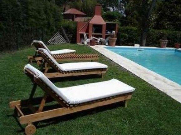 Resultado de imagen para reposeras de palets reposeras outdoor decor decor y furniture - Mobiliario para jardin ...