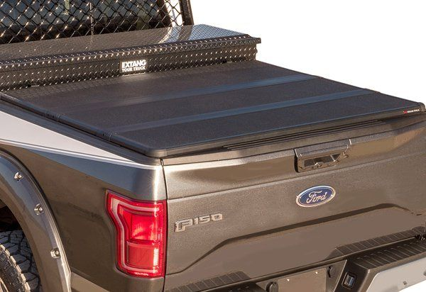 Extang Solid Fold 2 0 Toolbox Tonneau Cover Tonneau Cover Truck Bed Covers Tool Box