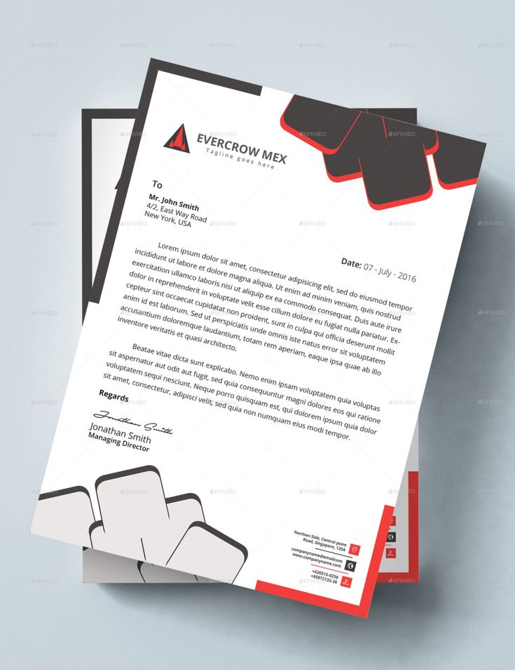 25 best Letterhead Templates For All Types Of Business images on - business letterhead