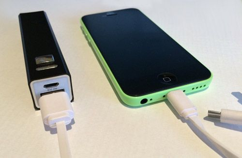 Charging your Phone with a Power Bank