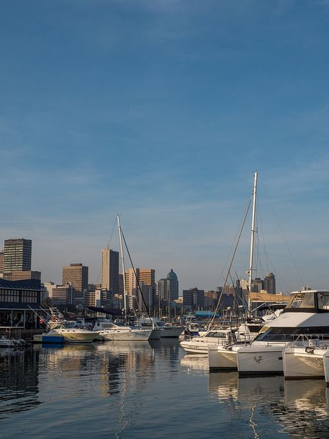 Durban Harbour, Durban, KwaZulu-Natal, South Africa | by South African Tourism