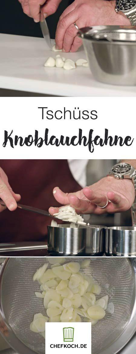 Ihr liebt den Geschmack von Knoblauch, aber nicht den Mundgeruch danach? Wir zeigen euch, wie ihr Letzteren verhindert.
