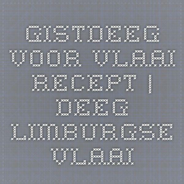 recept deeg voor bodem vlaai   deeg Limburgse vlaai