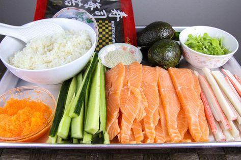 Lion king sushi recipe