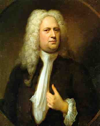 George Friedrich Handel, 1733 (Balthasar Denner) (1685-1749) Location TBD