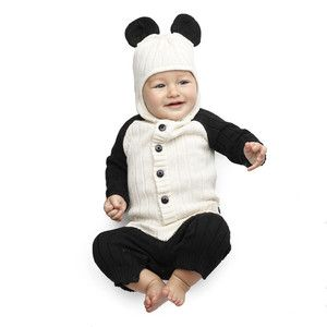 Baby Panda Suit, $85, now featured on Fab.