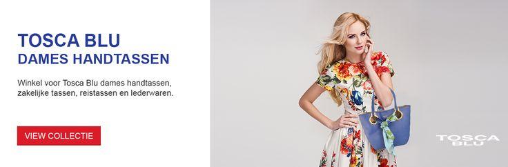 Tosca Blu web banner design for Samdam Retail Belgium