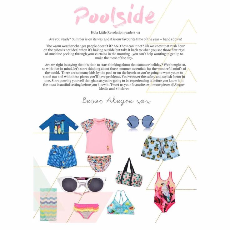 Alegre Media's Poolside fashion piece in the June/July issue of Little Revolution Magazine http://www.thelittlerevolution.co.uk #alegremedia