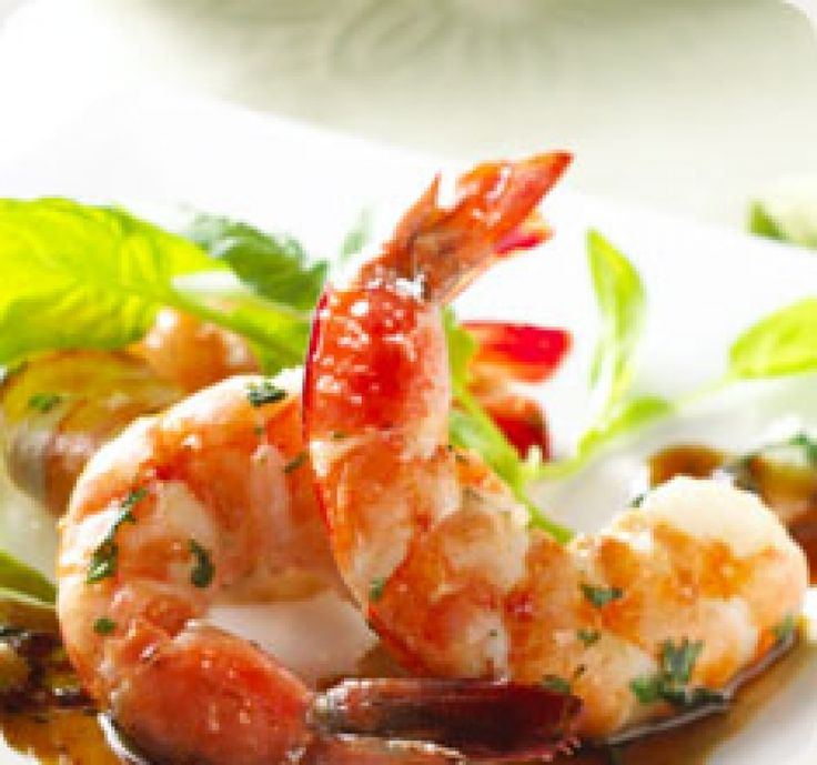 Prawns with Honey Sauce - gourmed.com