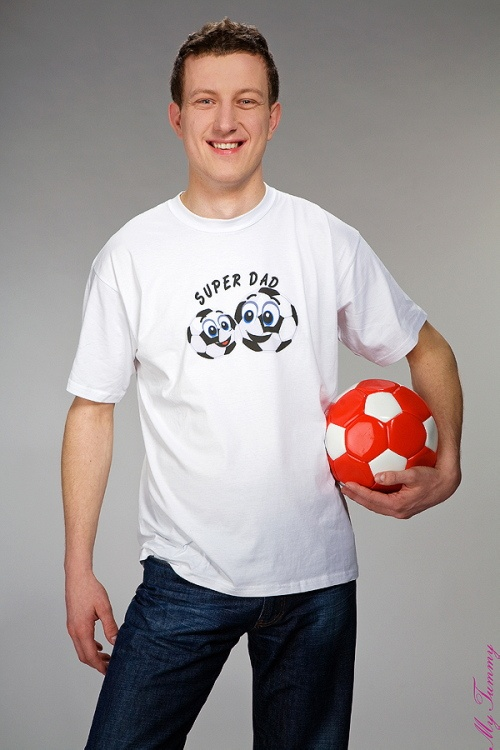 Koszulka dla Taty Super Dad