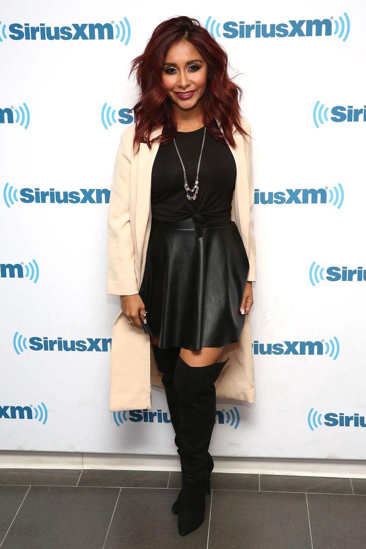 "Nicole ""Snooki"" Polizzi visits at SiriusXM Studios in New York City on Nov. 10, 2015. - Cosmopolitan.com"