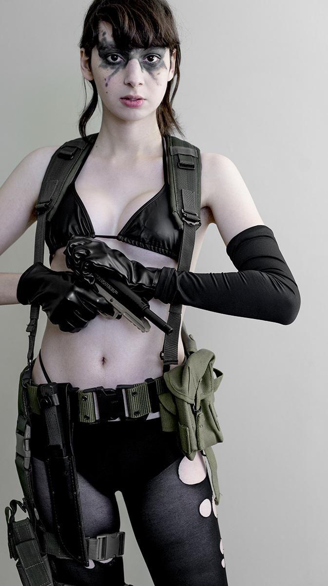 Quiet metal gear solid cosplay