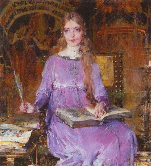 Николай Фешин картины Николай Иванович Фешин - выдающийся художник XX века. Родился в 1881 году в Казани - ушёл из жизни в 1955 году в Санта-Моника, Калифорния. В 1976 году дочерью Ией был п