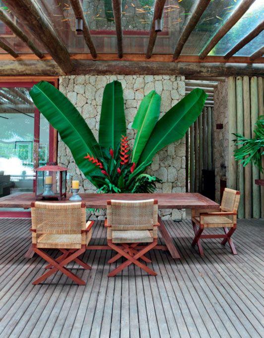SigBergamin ,architect,tropical coastal out door dinning,Brasil